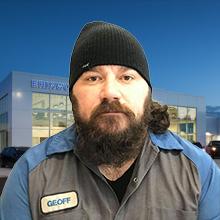 Geoff Battistel : Service Technician